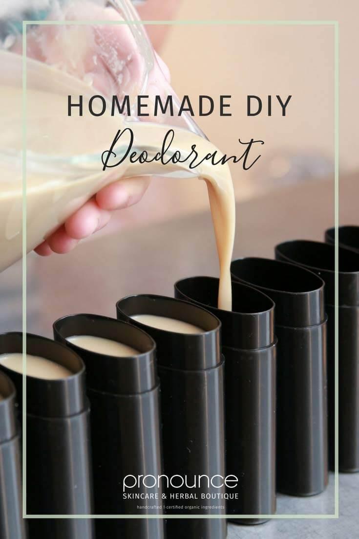 How to Make Homemade, Natural Deodorant