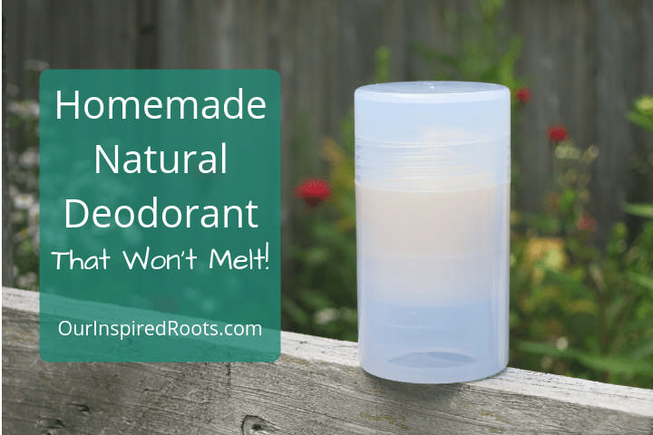 How to Make Natural, Homemade Deodorant