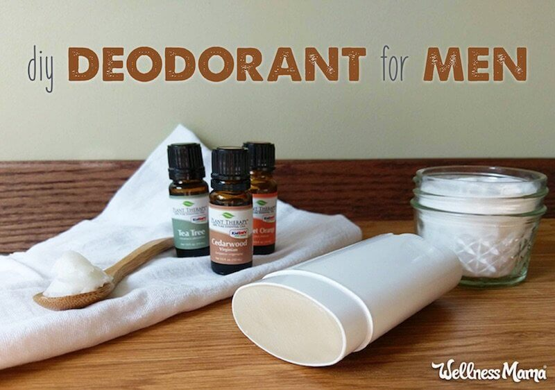 How to Make Homemade, Natural Deodorant