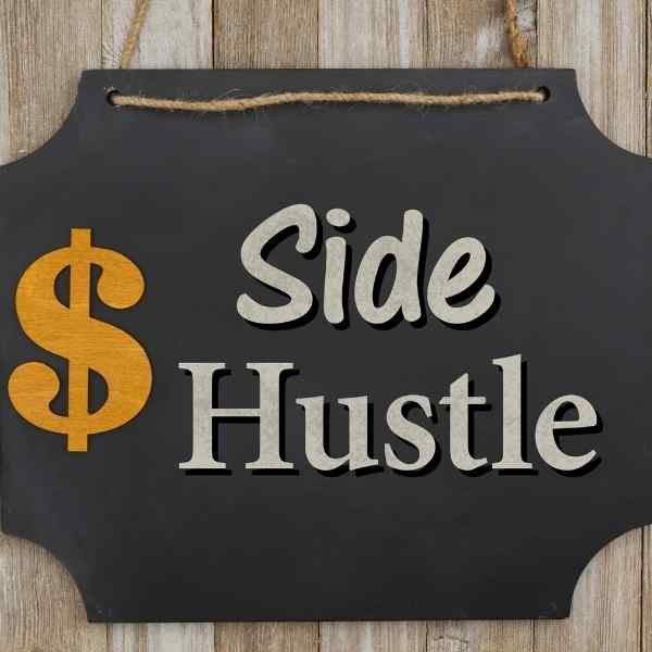side hustle sign