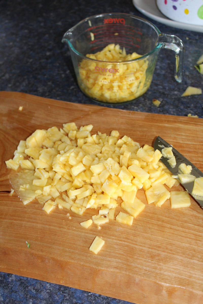 Fresh Homemade Pineapple Jam Recipe