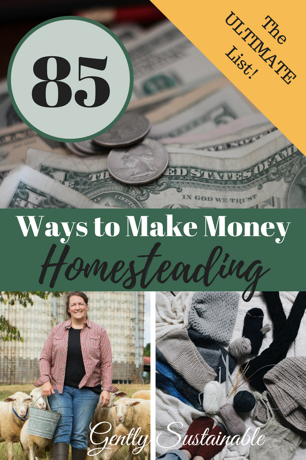 85 Ways to Earn Money Homesteading