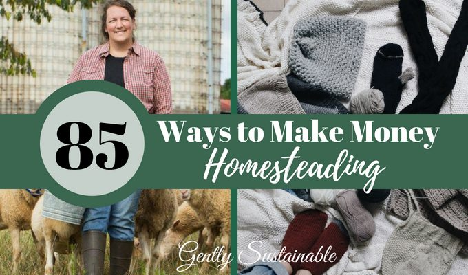 85 Easy Ways to Make Money on Your Homestead