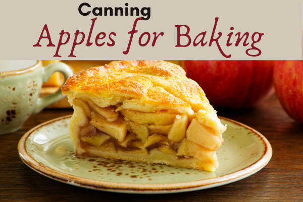 canning apples for baking