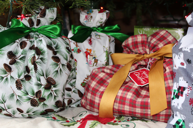 frugal cloth gift bags