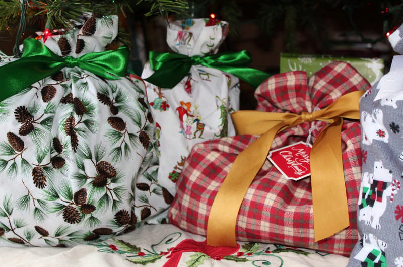How to Make Reusable Cloth Gift Bags
