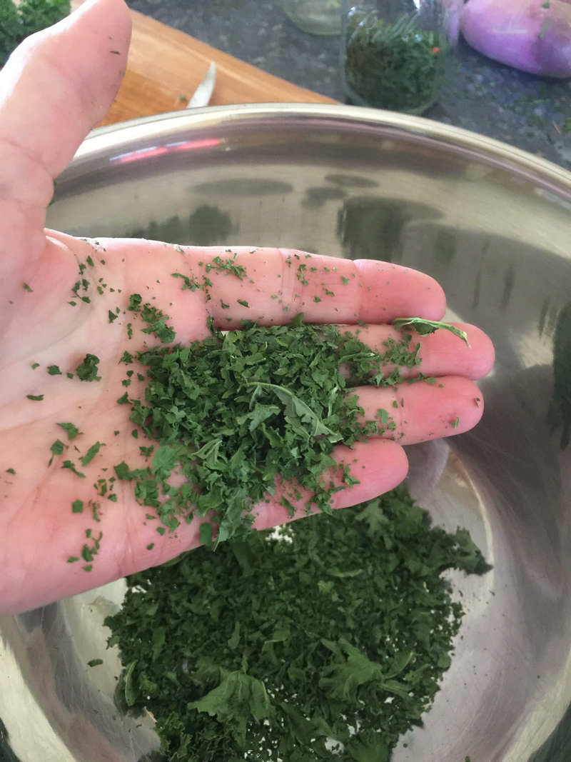 How to Make Super Greens Powder
