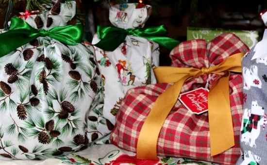 How to Make Reusable Cloth Gift Bags