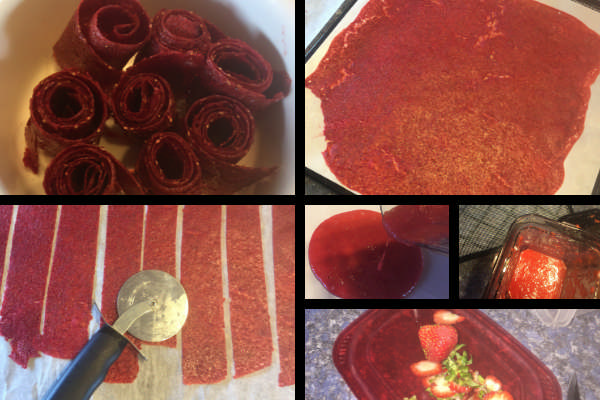 how to make fruit roll ups