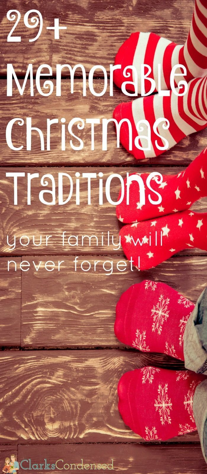 memorable christmas traditions