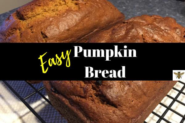 Easy, Moist Pumpkin Bread Recipe
