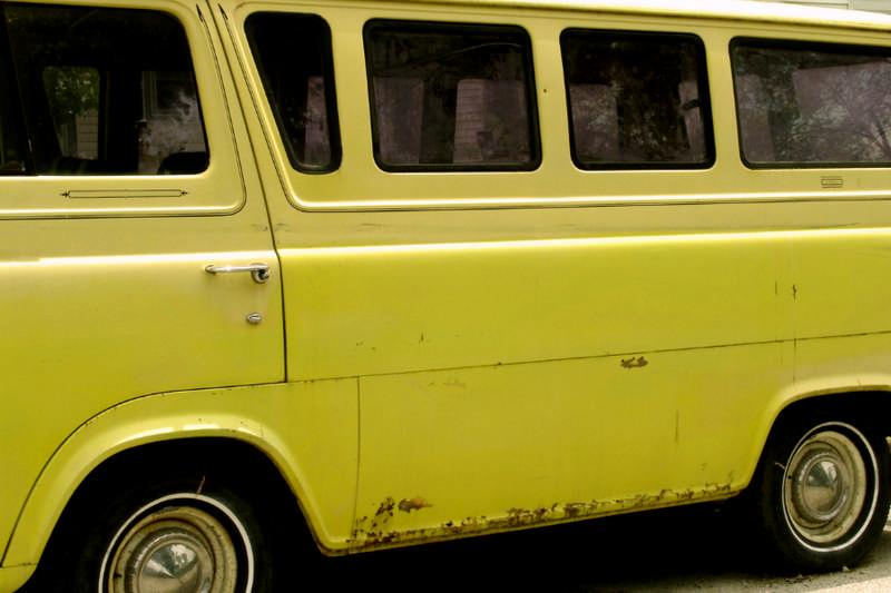 old ugly van