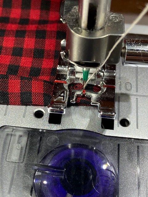 sewing cloth napkin