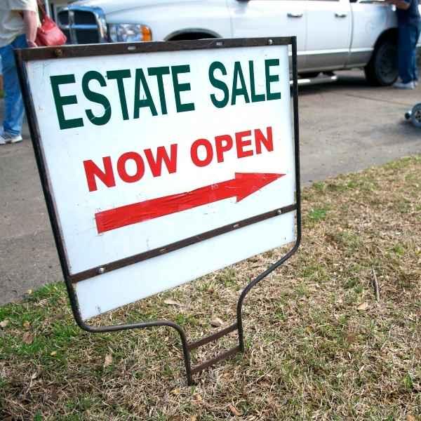 shop at estate sales