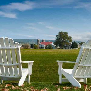 amish made lawn chairs