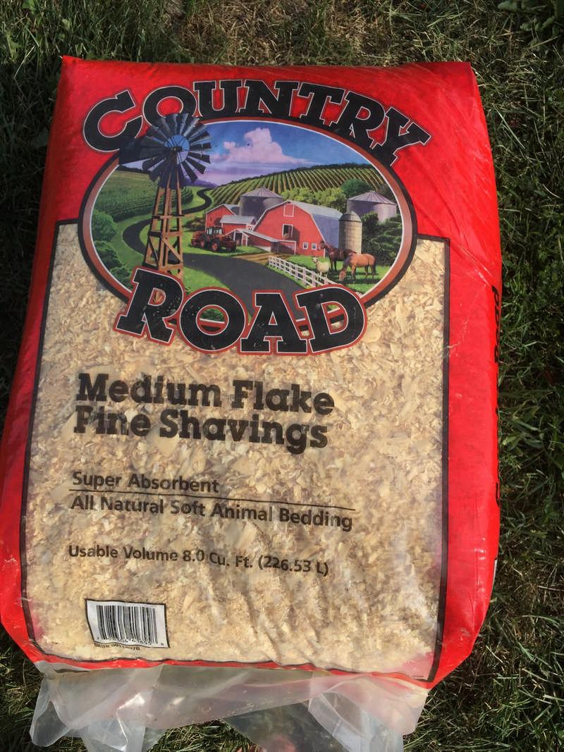 country road medium flake shavings