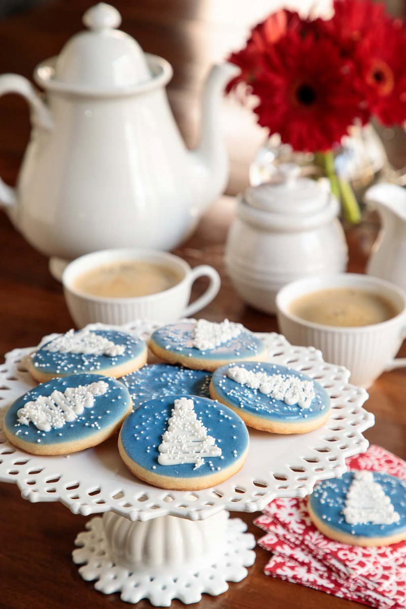 easy decorated Christmas cookie recipe
