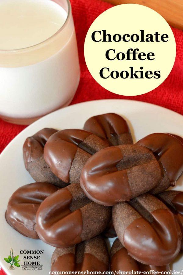 chocolate coffee cookie recipe