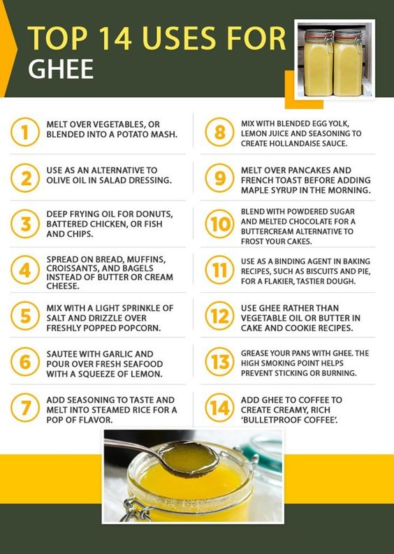 top 14 uses for ghee