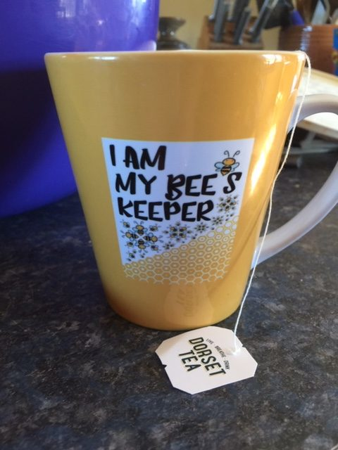 I am my bee's keeper coffee cup