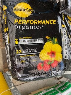 container potting soil