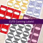 CUTE Canning Labels!