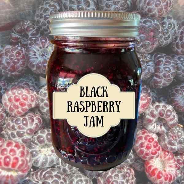 How to Make and Preserve Black Raspberry Jam Recipe