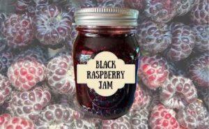 how to make black raspberry jam