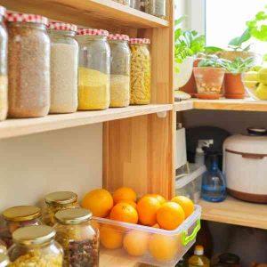food pantry at home
