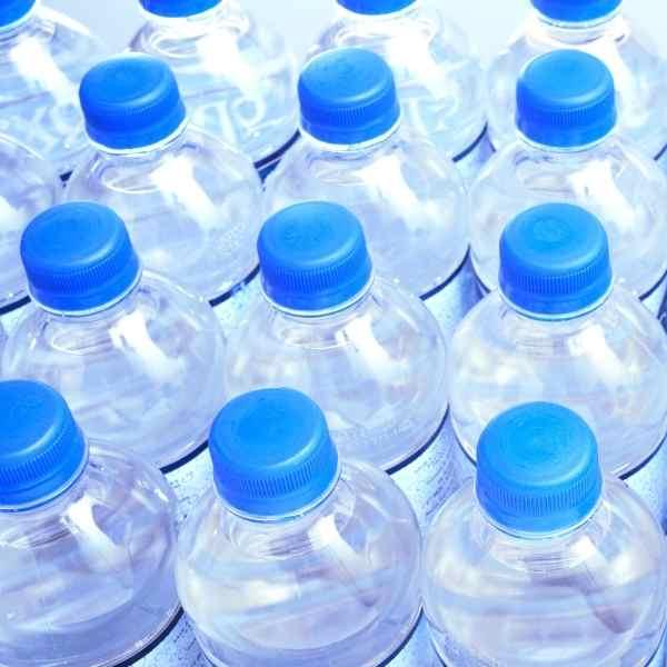 bottled water bottles