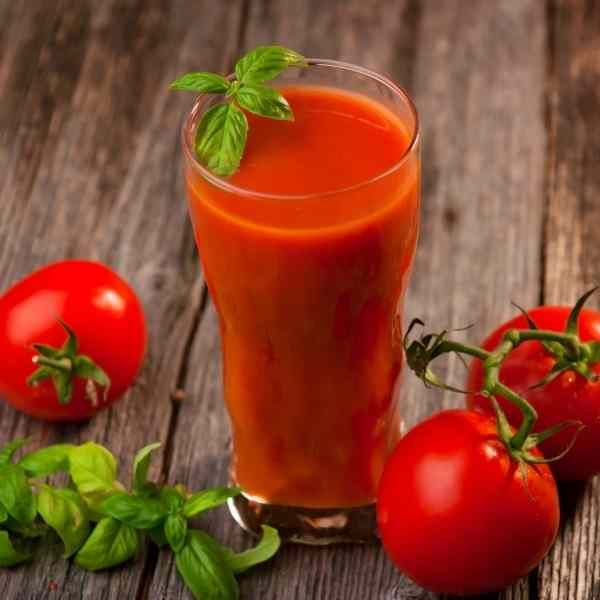 homemade tomato juice recipe